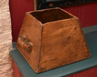 Primitive Wood Container / Tote / Caddy