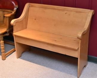 Wooden Bench / Pew