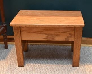 Oak Foot Stool