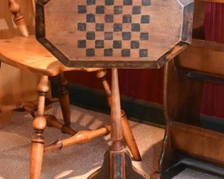Small Flip Top Game Table