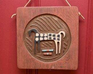 Horse Plaque / Wall Hanging