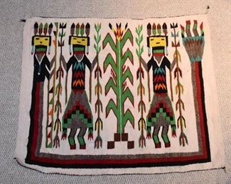 Native American Yei Rug / Wall Hanging