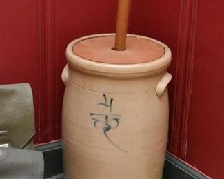Stoneware Butter Churn (2 of 2)