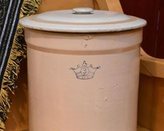Stoneware Crock with Lid