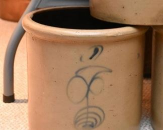 Stoneware Pottery Crocks