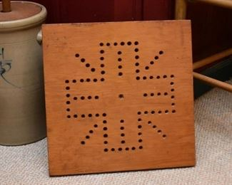Primitive Wooden Game Board