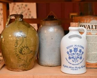 Stoneware Jugs & Crocks