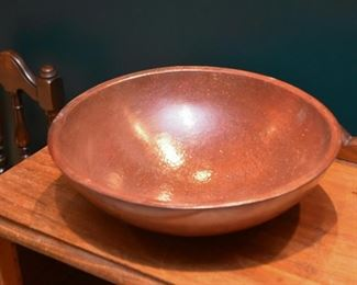 Pottery Dough Bowl