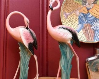 Flamingo Figurines (Will-George)