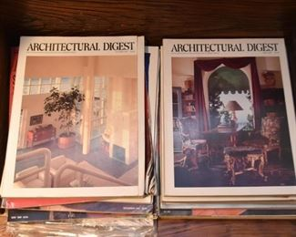 Architectural Digest Magazines