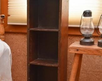 Primitive Wooden Curio Shelf