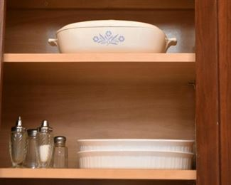 Baking Dishes, Corningware