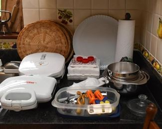 Small Appliances, Mixing Bowls, Etc.