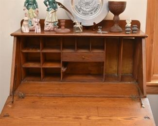 Antique Oak Secretary