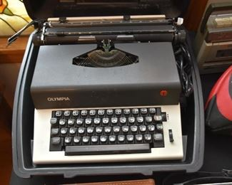 Vintage Electric Olympia Typewriter