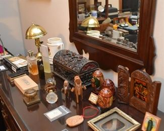 Vanity Items, Decorative Eggs, Religious Items, Etc.