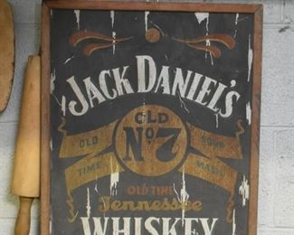 Jack Daniels Whiskey Sign