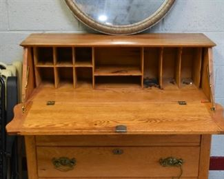 Oak Secretary / Chest
