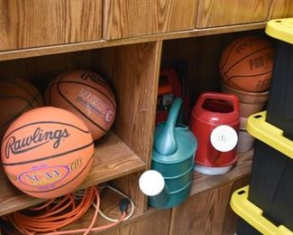 Basketballs, Watering Cans, Etc.