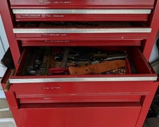 $125  Craftsman tool chest