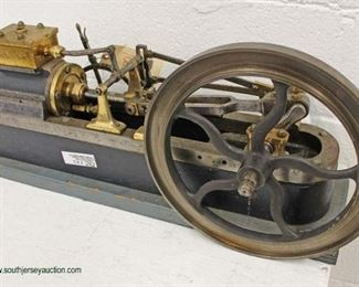 Large Early Ornate Model of Reverse Mill Engine  Auction Estimate $300-$600 – Located Inside