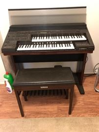 Yah ama organ with matching stool - Call 254-760-4478 if interested before the sale