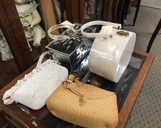 Lucite purses