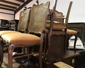 Country French set of 6 chairs
