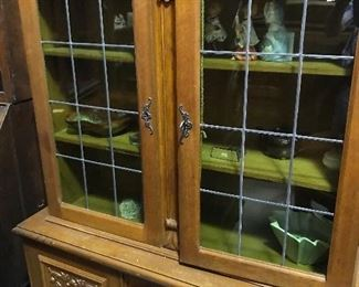 French deco china cabinet