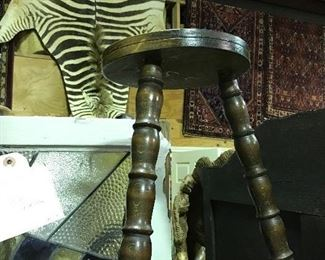 Several French stools
