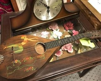 Art Deco mandolin