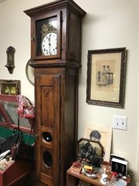 Country French farmhouse clock