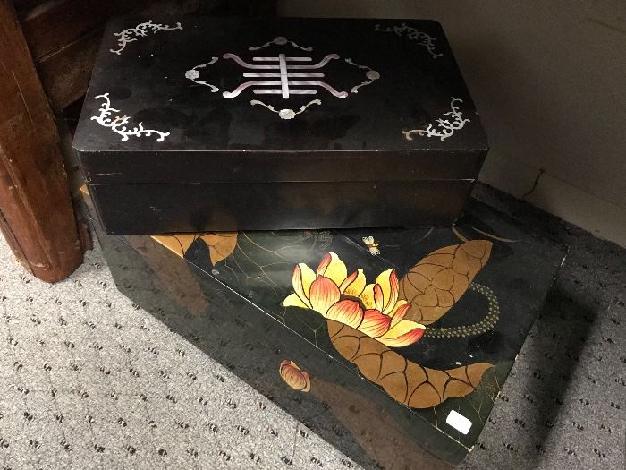 Asian boxes
