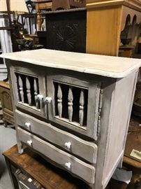 Painted French chest