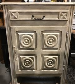 Painted French jam cabinet