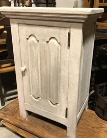 Painted rustic cabinet