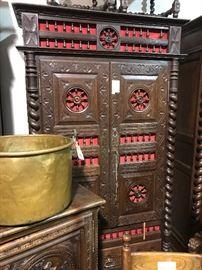 Breton/ Brittany cabinet