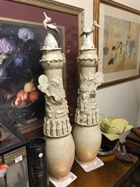 Chinese Burial urns
