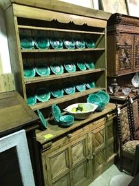 Fabulous French country pine cupboard