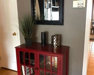 Sweet Cherry Red Cabinet