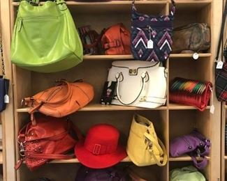 More purses with  brand names