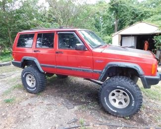 """1997 Jeep Cherokee Sport(8"""" Lift Kit/Subject to Confirmation)"""