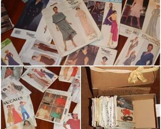80S & 90S McCALL VOUGE SIMPLICITY PATTERNS