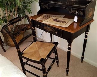 Ethan Allen desk and chair