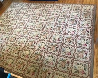 Mid Century  Topaz 100% Wool Rug