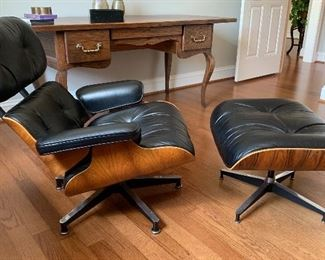 Eames chair and ottoman by Herman Miller