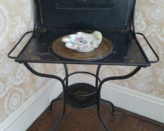 Antique Metal washstand