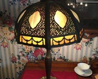 VICTORIAN PANEL LAMP