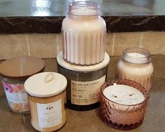 Huge collection of candles