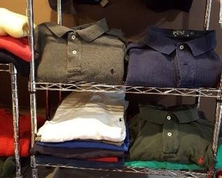 Mens Ralph Lauren clothing (most are XL)